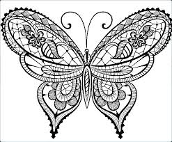 Small Coloring Pages Small Butterfly Coloring Pages Printable