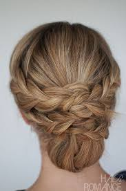 easy braided updo tutorial