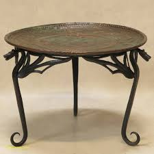 art deco side table lovely round glass top coffee table with wrought iron legs small in oval