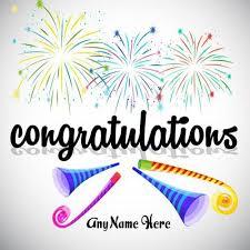 Congratulation For New Business Write Name Congratulation Images Write Name On It Congratulations