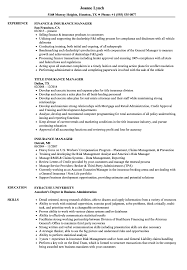 Generous Insurance Branch Manager Resume Ideas Entry Level Resume