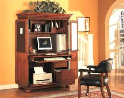 home office desk armoire. office armoire a best home desk white .