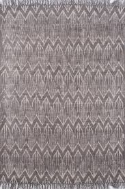 grey ikat hand woven priented dhurrie