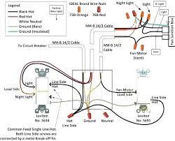 wiring exhaust fan light and heater wiring diagrams second wiring bath fan schema wiring diagram wiring exhaust fan light and heater