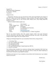 25 Contoh Surat Lamaran Kerja Yang Baik Dan Benar Doc Update