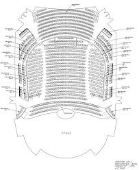 Organized Radio City Music Hall Seating Chart Virtual Tour 2019