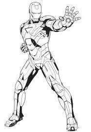 Disegno Di Iron Man Ferma Il Nemico Da Colorare Disegni Da