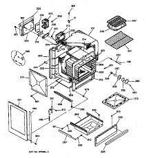 general electric jgsp31wetww gas range timer stove clocks and jgsp31wetww gas range body parts diagram