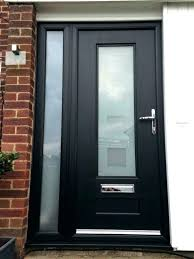 door with glass panel frosted glass front door black front door with glass door inspirations black
