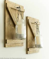 17 gorgeous diy mason jar wall sconces