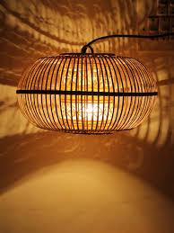 bamboo pendant light. Bamboo Pendant Lamp Shade Light O