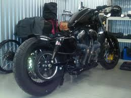 nightster chopped rear fender and seat the sportster and buell