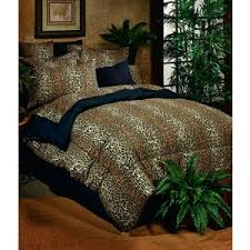 Animal Print Bedding | Safari Bed Sets| Zebra Prints Comforter ... & Bed in a Bag Set (9) Adamdwight.com