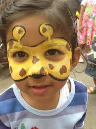 Easy Halloween Face Painting Designs Face Paint For Kids Giraffe Google Search Mime Face