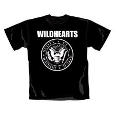 the wildhearts crest t shirt small t shirt uk wdhtscr419728