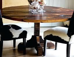 round reclaimed wood kitchen table round reclaimed wood dining table diy barn wood kitchen table