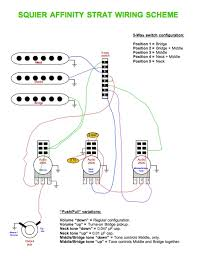 squier strat wiring diagram affinity wiring diagram and schematic Fender Squier Strat Wiring Diagram squier affinity strat wiring diagram free low volume output on selector 4 and 5 fender strat wiring diagram for fender squier strat