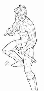 golfclixfo page young justice nightwing coloring pages us on wings of fire nightwing coloring pages