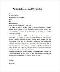Administrative Assistant Cover Letter Examples Administrative
