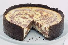 chocolate marble cheesecake. Plain Marble Inside Chocolate Marble Cheesecake S