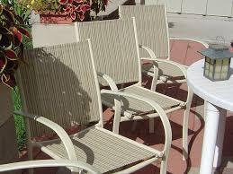 selecting patio sling chair replacement fabric sailrite regarding furniture repair designs 12