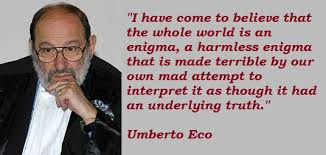 Image result for Umberto Eco images