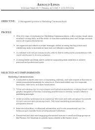 Communications Resume Template Resume Marketing Communications