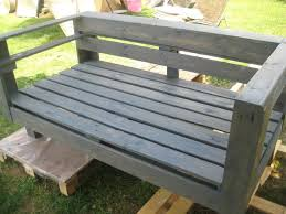 Small Picture DIY Pallet Wood Garden Bench 99 Pallets