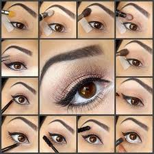 how to put on simple makeup emo eye