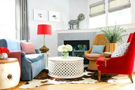 decorate with mismatched furniture