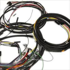 willys jeep parts restoration wiring walck s 4 wheel drive wiring harness 1957 1965 cj5 4 cylinder used generator