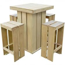 outdoor dining bar set garden stools patio tall table high chairs counter height