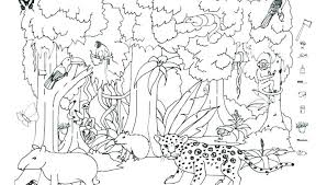 logging coloring pages rain forest coloring pages coloring pages to print coloring page