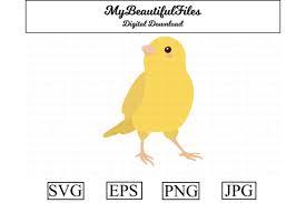 Canary Clipart Design Graphic By Mybeautifulfiles Creative Fabrica