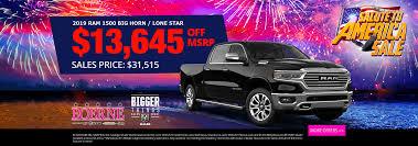 Boerne Dodge Chrysler Jeep Ram | New & Used Car Dealer in Boerne, Tx