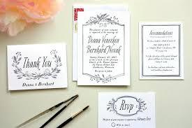 diy wedding invitation dreaded white wedding invitations with black type 218 diy wedding invitations ideas philippines