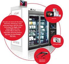 Ipod Vending Machine Locations New IPod Vending Machines To Hit Macy's SlipperyBrick