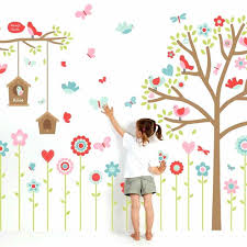 Childrens Removable Wall Decals Wall Decor Kids Room Decor Nursery ...