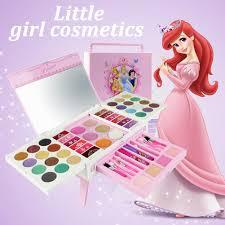 ryt 56pcs kid disney cosmetic case beauty kit portable make up box set toy gift