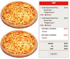 hungry howie s hot 2 free small cheese pizzas no purchase required hip2save