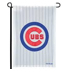 chicago cubs 12 5 x 19 applique double sided garden flag no size com