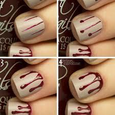 Halloween Manicure: Blood Drip Nail Art | more.com
