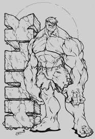 Hulk Coloring Pages Beautiful Printable Hulk Coloring Pages
