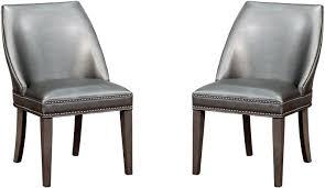 gray wingback chair. Gray Wingback Chair Dark Set Of 2 Grey Australia