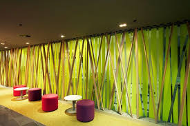office interiors ideas. Office Interior: Stunning Natural Workspace Interior Decorating With Lime Green Scheme Interiors Ideas E