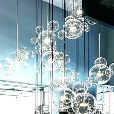 glass bubble light lamp shade pendant ceiling