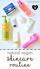 my natural vegan skincare routine for acne e oily e and bination skin