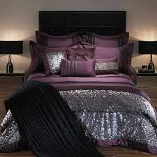 Sexy Bedroom. I Love The Plum And The Sparkle