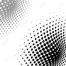 Zusammenfassung Hintergrund Vektor Halftone Effekt Der Illusion