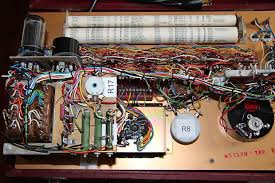 Hickok 6000a Mutual Conductance Tube Tester 1962 Red